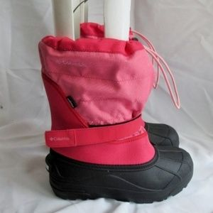 COLUMBIA WATERPROOF Lined Ankle Snow Rain BOOT